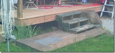mismatched steps