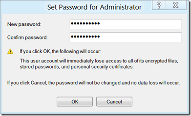 Steps To Enable Built-in Administrator Account In Windows 8 - Set Password For Administrator