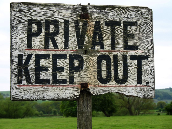 Warning! Keep out