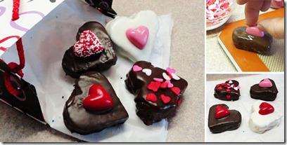 Resep Cake Hati Mini Siram Cokelat