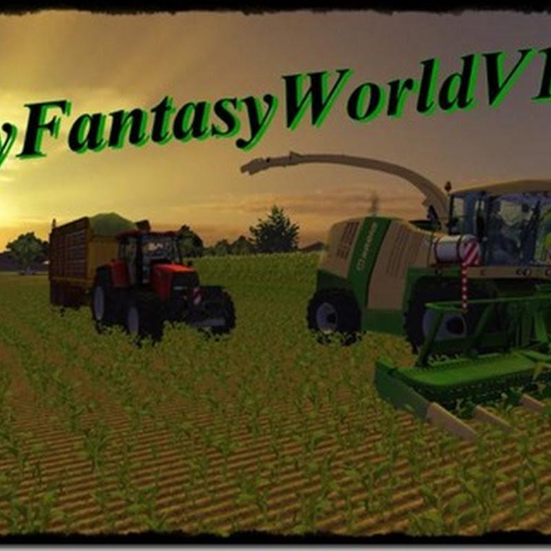 Farming simulator 2013 - My Fantasy World v 1.2 Mappa