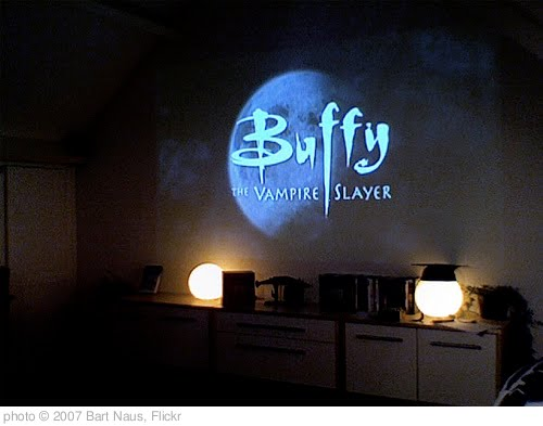 'Buffy on the Wall' photo (c) 2007, Bart Naus - license: http://creativecommons.org/licenses/by-sa/2.0/