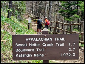 11f2 - Newfound Gap Stop - Appalachian Trail