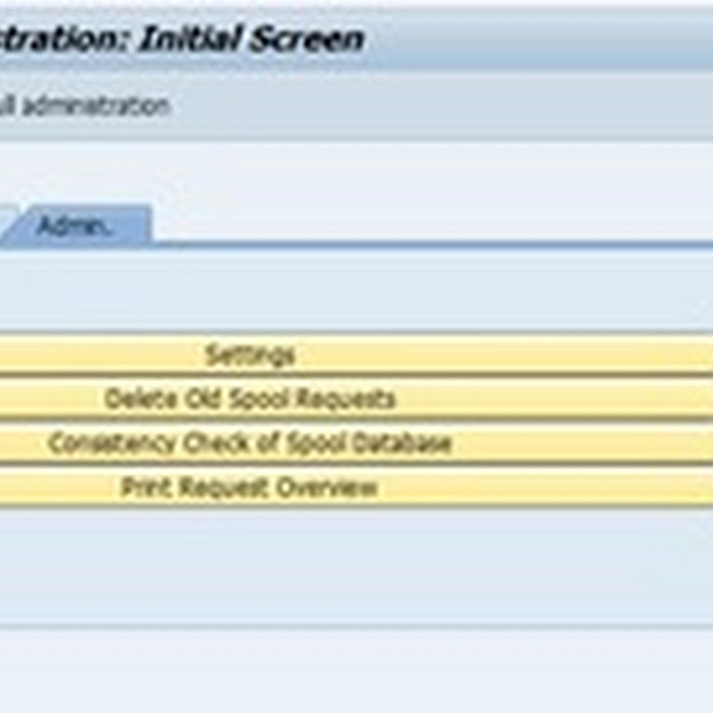 Deleting Spool Request in SAP