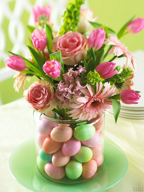 BHG Easter egg vase