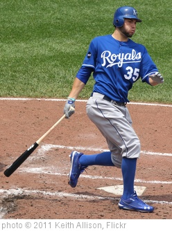 'Kansas City Royals first baseman Eric Hosmer (35)' photo (c) 2011, Keith Allison - license: http://creativecommons.org/licenses/by-sa/2.0/