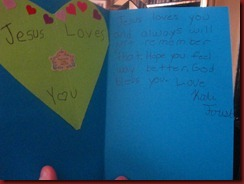 Kodi's card, just precious!
