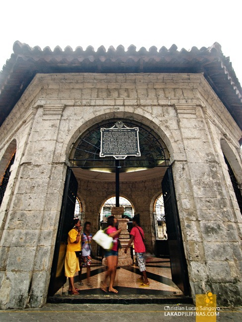 The Shrine Housing Magellan's Cross in Cebu