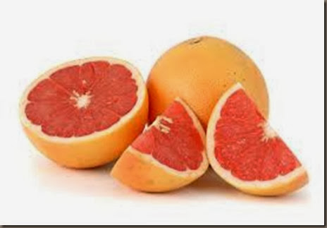 grapefruit wedge