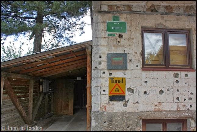 The tunnel museum, Sarajevo