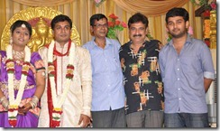 Ramesh Khanna at Major Dasan Daughter Wedding Reception Photos