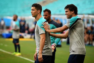 Ronaldo entre en scène avec le Portugal contre l'Allemagne