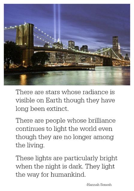 September 11 lights