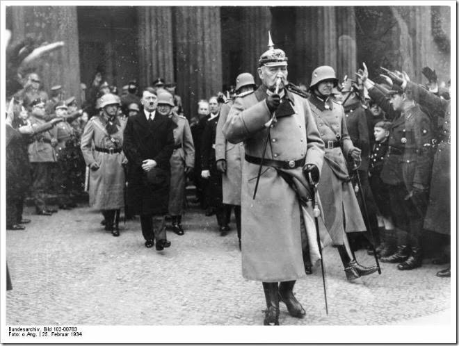 Hitler e Hindenburg