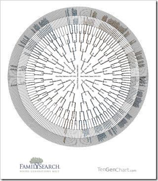 TenGenChart.com circular chart