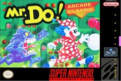 Mr. Do! Super NES Box