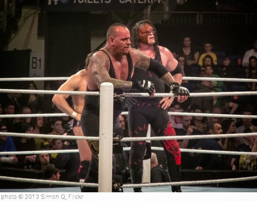 'Undertaker, Kane & Daniel Bryan vs. The Shield' photo (c) 2013, Simon Q - license: http://creativecommons.org/licenses/by/2.0/