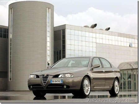 Alfa Romeo 166 (2004)8