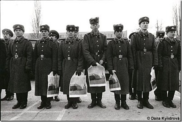 Départ des troupes soviétiques, photo Dana Kyndrová