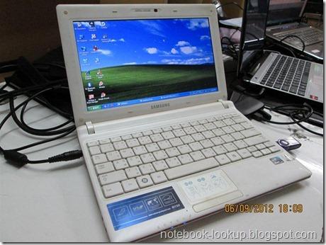 บันทึกช่าง Samsung N150 ติดตั้ง WinXP แทน Win7 Starter