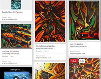 pinterest paintings