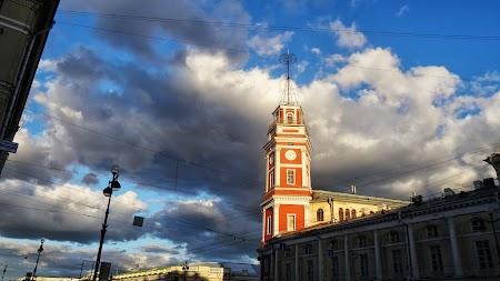Foto cu Sony: Apus de soare la St. Petersburg