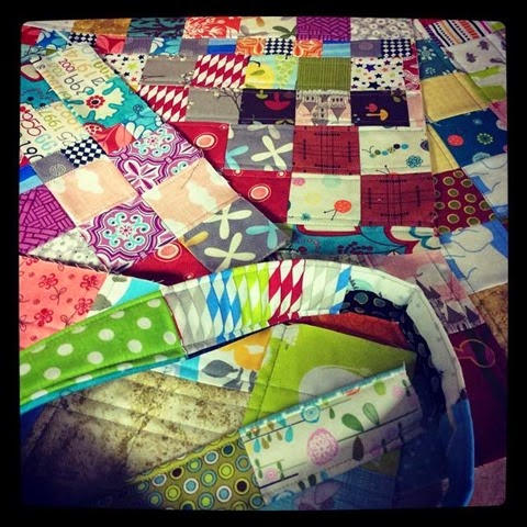 patchwork pieces project quilting