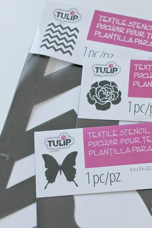 #tulipforyourhome #ilovetocreate #stencils