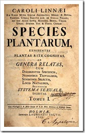 Species plantarum. Foto: Wikipedia