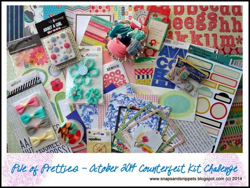 October 2014 Counterfeit Kit Challenge