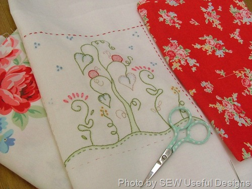 Xmas stitchery progress 2