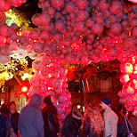 globes at Nuit Blanche 2014 in Toronto, Ontario, Canada