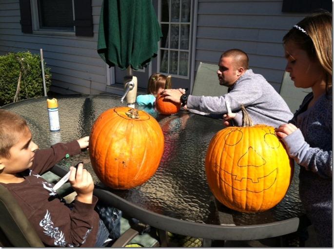 pumpkins grandkids 2