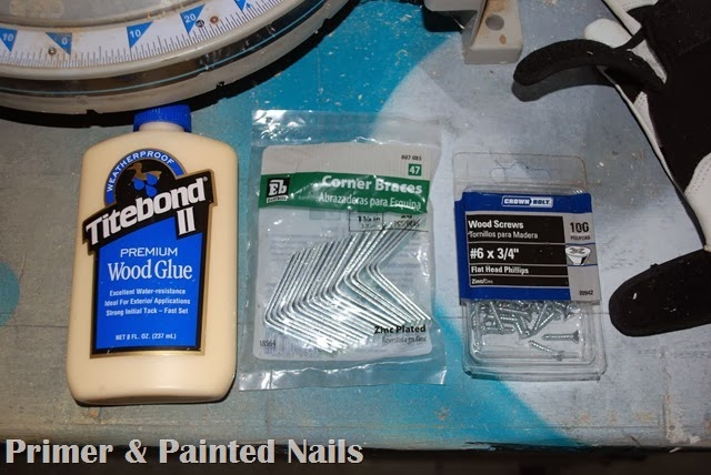 Planter Making Supplies - Primer & Painted Nails