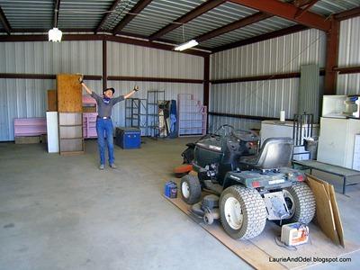 Success - a clean barn!