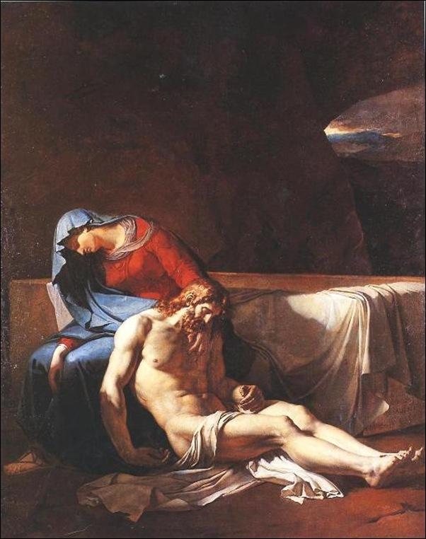 Girodet, Le Christ mort soutenu par la Vierge