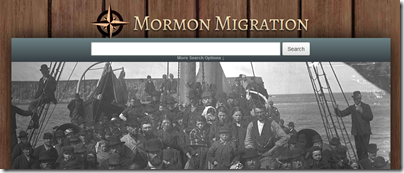 FamilySearch adds collection linked to the Mormon Migration website of BYU