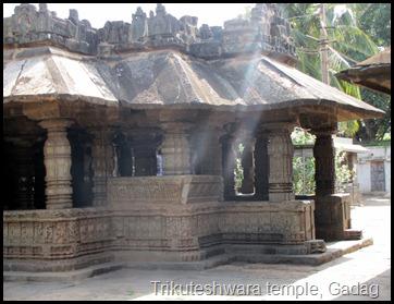Trikuteshwara temple, Gadag
