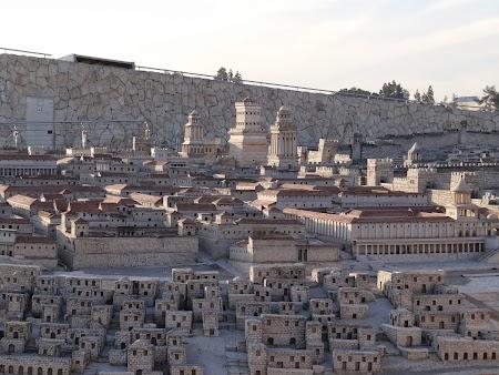 Imagini Israel: Macheta Ierusalim scara 1.50
