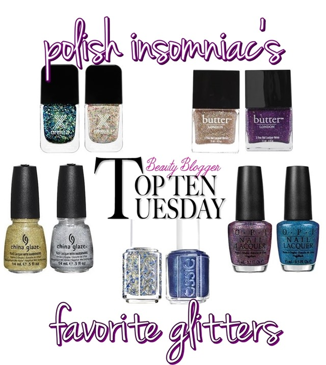 polish insomniac's top ten favorite glitters