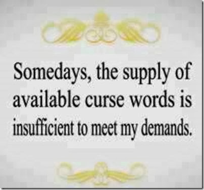 supply of curse words