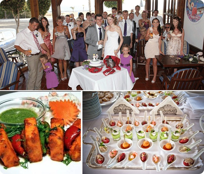 Decide the wedding menu