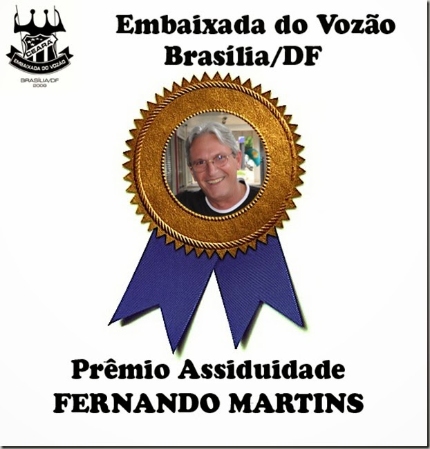 premio assiduidade 2013