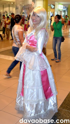 Natassja as a Dream of Doll character at Cosplay Hobby and Interest Nexus (CHAIN) in Gaisano Mall of Davao