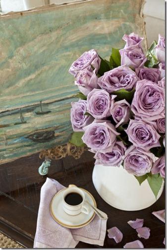 lilac roses via pinterest