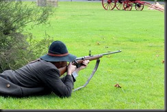 Boer takes aim