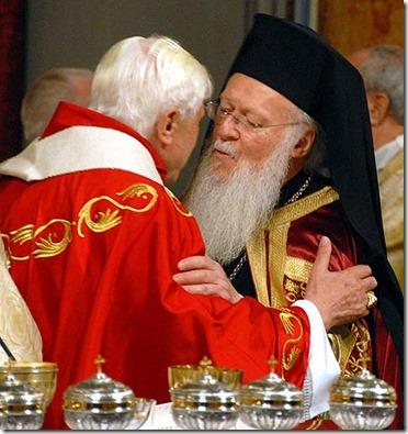 Bartolome-I-y-Benedicto-XVI