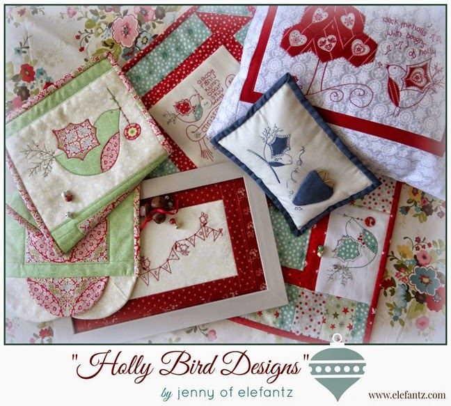 Holly Bird Designs Jenny of Elefantz Christmas