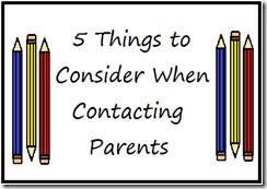 Contacting Parents (2)