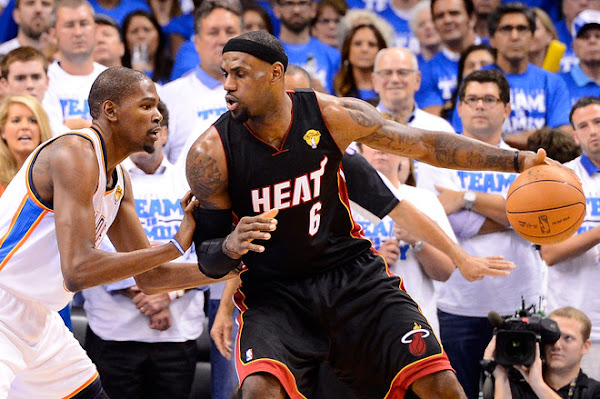 Miami Heat Hold off Thunder in a Thriller Game Two Series Tied